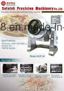 Multifunctional Fried Noodles/Instant Noodles Making Machine/Chinese Cuisine Processing Line/Nuts Roasting/Coffee Baking pictures & photos