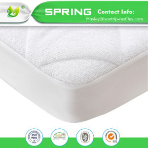 Slf 11 100 Cotton Terry Towel Surface Quilted Waterproof Mattress Protector