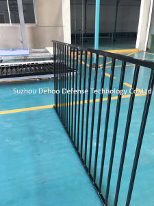 Welded Galvanized Black Powder Coated Fence for Garden pictures & photos