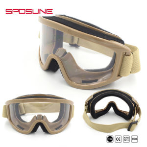 China Manufacturers Wholesale Airsoft TPU Frame PC Lenses Ballistic Goggles pictures & photos