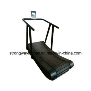 Gym Fitness Equipment Black Commercial Manual Treadmill