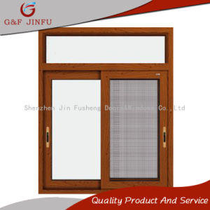 Triple Track Aluminum Sliding Windows with Stainless Steel Screen