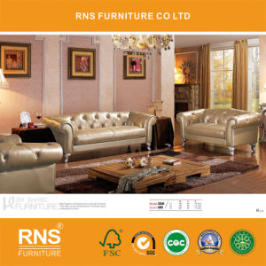 732 European Style Living Room Furniture Chesterfield Sofa Set