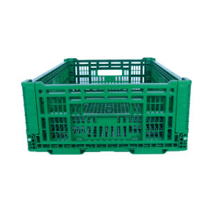 600*400 Series Foldable Plastic Crate for Vegetable and Fruit pictures & photos