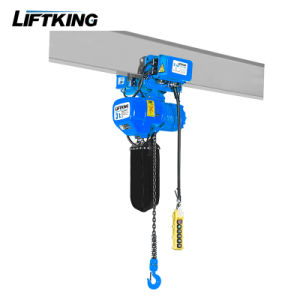 European Standard Electric Chain Hoist with Safety Clatch pictures & photos