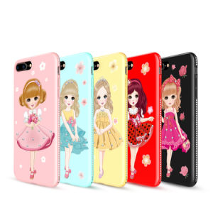 huge selection of 47aba 319c3 Customized Luxury Cute UV Printing OEM TPU Phone Cases Cheap for iPhone 7