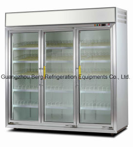 3000L Soft Drink Commercial Upright Glass Door Refrigerator with Ce pictures & photos