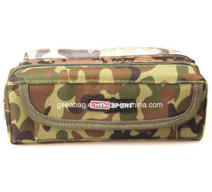 School Stationery Case, Double Zipper Pencil Bag for Children (GB#30099) pictures & photos