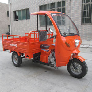 China Motor Cargo Tricycle New Model Motorcycle Tricycle with Cabin (SY200ZH-F5) pictures & photos