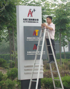 Exterior Entrance Exit LED Directory Banner Stands pictures & photos