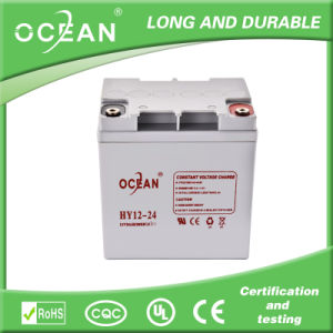 Lead Acid UPS Battery 12V 24ah Battery