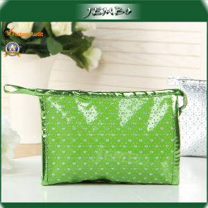 Promotion Gift Green Cosmetic Travel Ladies Bag pictures & photos