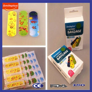 Waterproof Carton Elastic Wound Bandage pictures & photos