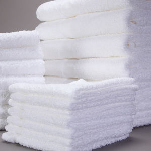 100% Cotton White Standard Hotel Towel Sets pictures & photos