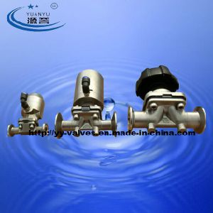 Stainless Steel Sanitary Diaphragm Valve (100800) pictures & photos