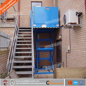 china indoor or outdoor handicap vertical platform small disabled