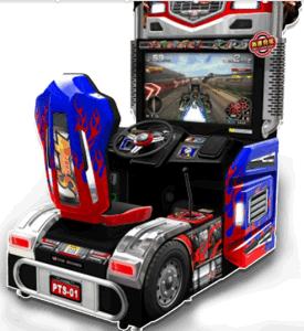Arcade Machine Driving Power Truck Special Racing Video Game