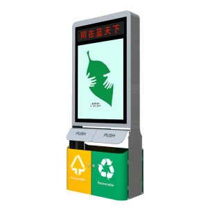 LED Screen Outdoor Trash-Can Advertising Light Box pictures & photos