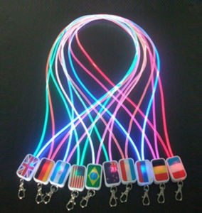 OEM New Design LED Light Lanyards pictures & photos
