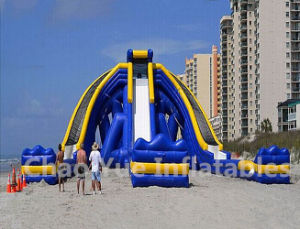 0.55mm PVC Tarpaulin Inflatable Water Slide for Sport Game
