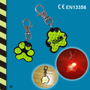 LED Hard Reflector, Key Chain, LED Keychain Flashlight pictures & photos