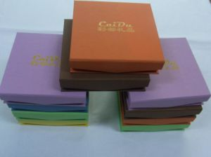 Handmade Paper Gift Box for Jewelry (TB65-1)