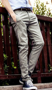 Man′s Cargo Walking Colorful Chino Soft Cotton Casual Pants pictures & photos