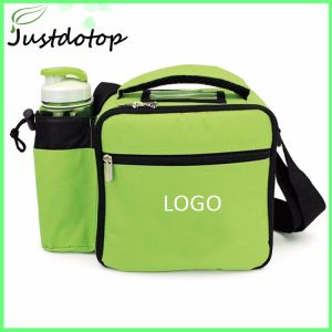 Camping Lunch Bag Ice Insulated Cooler With Bottle Holder