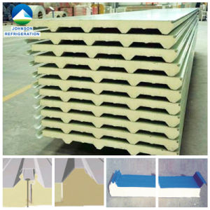 Building Material Labyrinth Joint Polyurethane Sandwich Roof Panel