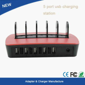 New Product Multi USB Charger 5 Port USB Charger/Power Adapter Station