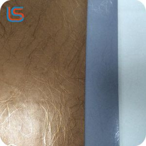 Classical Semi PU Artificial Leather for Bar Decoration Furniture Leather