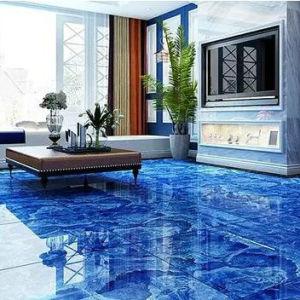 800x800 Beautiful Blue Color Porcelain Floor Tiles