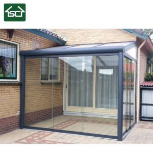 China Modern Wall Mounted Polycarbonate Roof Gazebo With Sliding Doors China Carport Gazebo