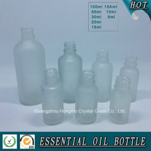 Clear Frosted Glass Bottle for Essential Oil pictures & photos