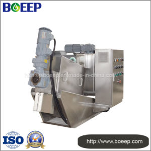 Screw Filter Press in Breeding Sewage Treatment Plant pictures & photos