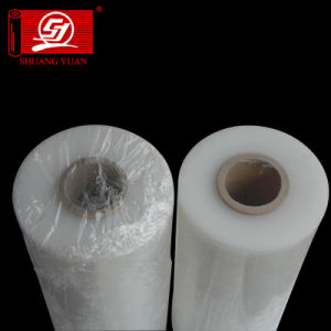 Clear Machine Plastic Packaged Roll Laminating PE Stretch Film pictures & photos