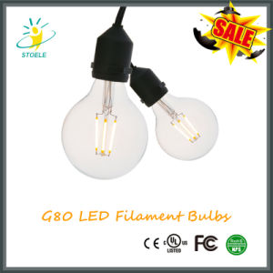 G25/G80 Global Energy Saving LED Filament Bulb Edison Style