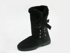 Winter Warm Soft Snow Boots Ladies with Rhinestone pictures & photos