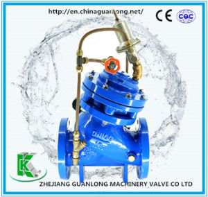 Globe Double Chamber Automatic Quick Safety Pressure Relief / Sustaining Valve