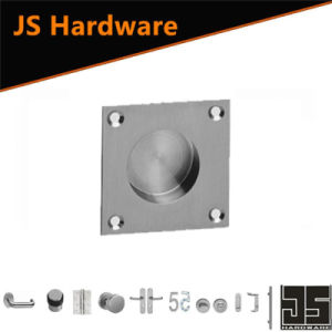 High Quality Square Shape Stainless Steel Flush Pull with Hole