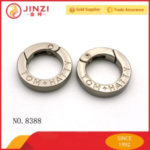 Zinc Alloy Hardware High End Snap Ring for Bags and Souvenirs, Customized Spring Ring pictures & photos