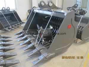 Skeleton Bucket for All Excavator Brand/Komatsu/Hitachi/Cat/Kobelco pictures & photos
