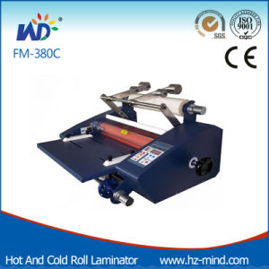 FM-380c with Cutter Cold and Hot Roll Heating Lamination Machine pictures & photos