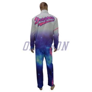Design Your Own Tracksuits Custom Sublimation Printing Tracksuit (TJ003) pictures & photos