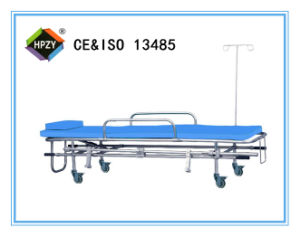 (B-16) Stainless Steel Stretcher Trolley