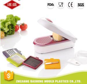 Kitchen Appliance Manual Smart Vegetable Potato Chips Maker Chopper  Shredder Slicer Dicer with 5 Blades