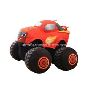 Free Sublimation Printed Car Stuffed Toy Plush for Car
