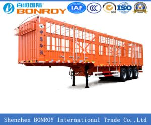3 Axle Stake Semi-Trailer with Goose Neck