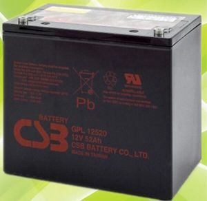 Csb 12V 52ah Battery (GPL12520) pictures & photos