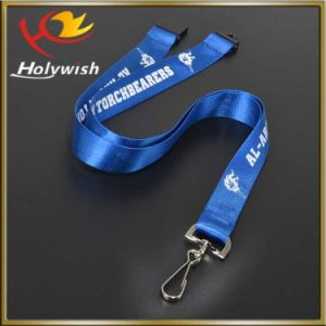 Wholesale OEM Various Style Lanyard Woven/Sublimation/Silkscreen Printed